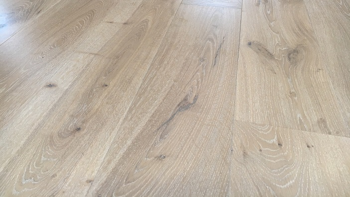 Engineered Oak flooring with a limed oak finish in Radcliffe on Trent Nottingham