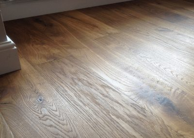 Kahrs Oak Earth Artisan Range pre finished engineered flooring supplied and fitted near Nottingham