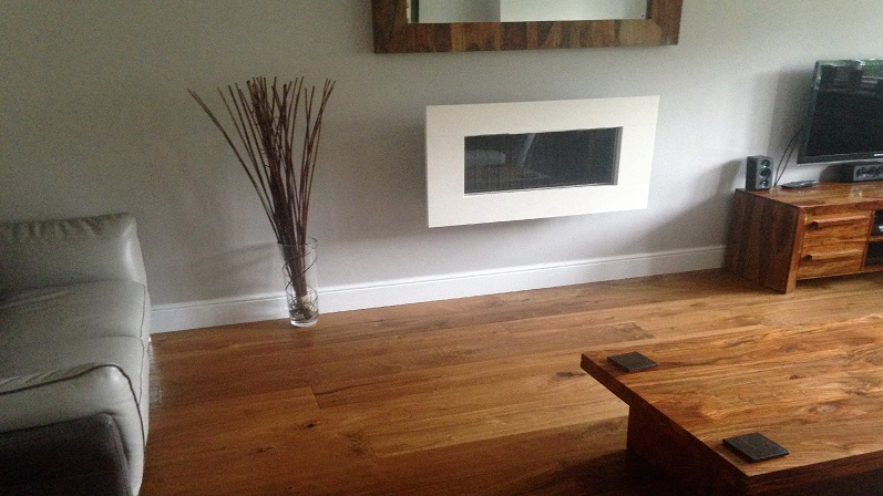 Kahrs Oak Earth prefinished engineered hardwood flooring in Nottingham